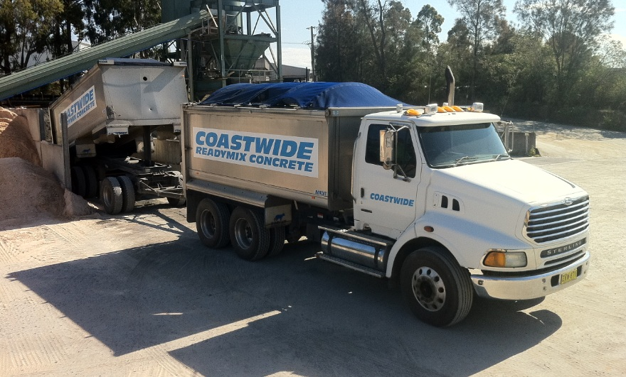 Coastwide Readymix Concrete - Aggregates, rock, filling
